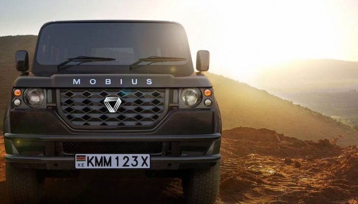 Un vero fuoristrada nel 2018? Il Made in Kenya dalla Mobius Motors - Foto 2 di 10