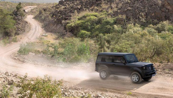 Un vero fuoristrada nel 2018? Il Made in Kenya dalla Mobius Motors - Foto 4 di 10