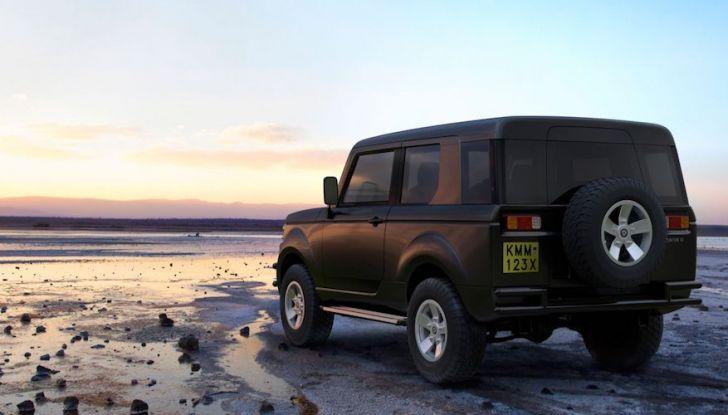 Un vero fuoristrada nel 2018? Il Made in Kenya dalla Mobius Motors - Foto 6 di 10