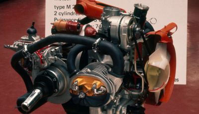 Il motore della 2CV fatto da un italiano