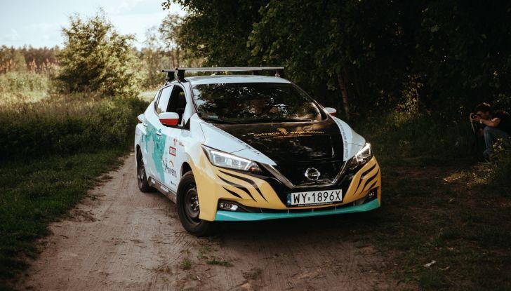 Nissan Leaf: 16.000Km in un viaggio dalla Polonia al Giappone con Marek Kaminski - Foto 1 di 6