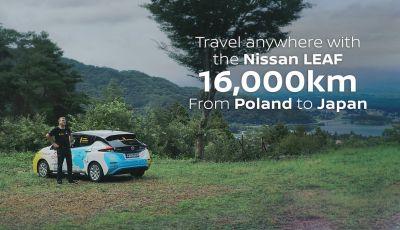 Nissan Leaf: 16.000Km in un viaggio dalla Polonia al Giappone con Marek Kaminski