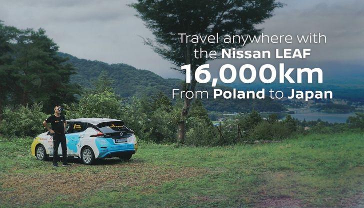 Nissan Leaf: 16.000Km in un viaggio dalla Polonia al Giappone con Marek Kaminski - Foto 3 di 6