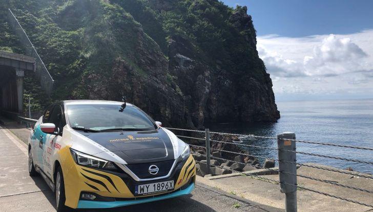 Nissan Leaf: 16.000Km in un viaggio dalla Polonia al Giappone con Marek Kaminski - Foto 2 di 6