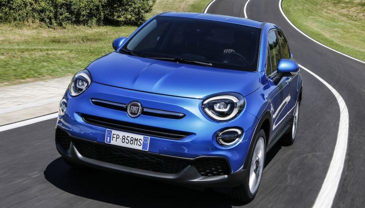 Nuova Fiat 500X 2018: nuovi motori, tecnologia e stile a 15.500€ - Foto 13 di 40