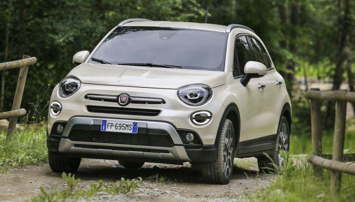 Nuova Fiat 500X 2018: nuovi motori, tecnologia e stile a 15.500€ - Foto 21 di 40