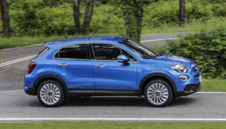 Nuova Fiat 500X 2018: nuovi motori, tecnologia e stile a 15.500€ - Foto 22 di 40