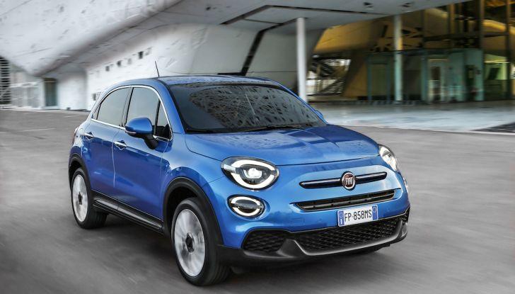 Nuova Fiat 500X 2018: nuovi motori, tecnologia e stile a 15.500€ - Foto 4 di 40