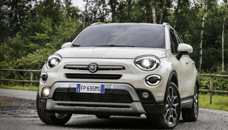 Nuova Fiat 500X 2018: nuovi motori, tecnologia e stile a 15.500€ - Foto 23 di 40