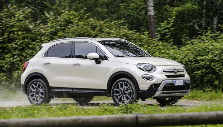 Nuova Fiat 500X 2018: nuovi motori, tecnologia e stile a 15.500€ - Foto 26 di 40