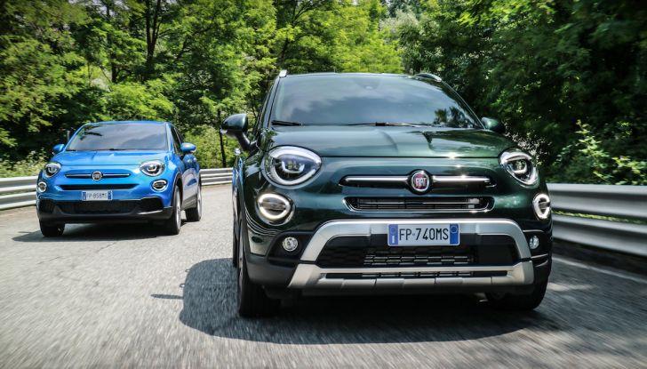 Nuova Fiat 500X 2018: nuovi motori, tecnologia e stile a 15.500€ - Foto 32 di 40