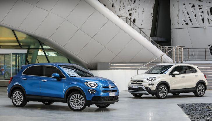 Nuova Fiat 500X 2018: nuovi motori, tecnologia e stile a 15.500€ - Foto 35 di 40
