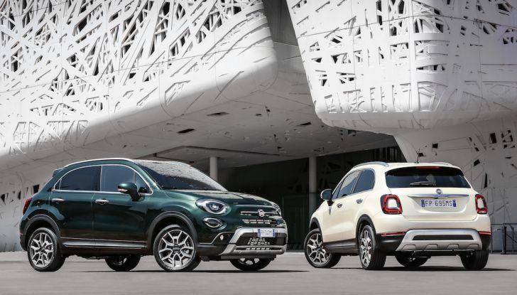 Nuova Fiat 500X 2018: nuovi motori, tecnologia e stile a 15.500€ - Foto 2 di 40
