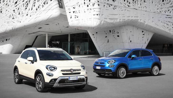 Nuova Fiat 500X 2018: nuovi motori, tecnologia e stile a 15.500€ - Foto 36 di 40