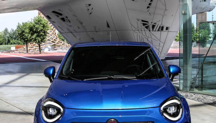 Nuova Fiat 500X 2018: nuovi motori, tecnologia e stile a 15.500€ - Foto 40 di 40