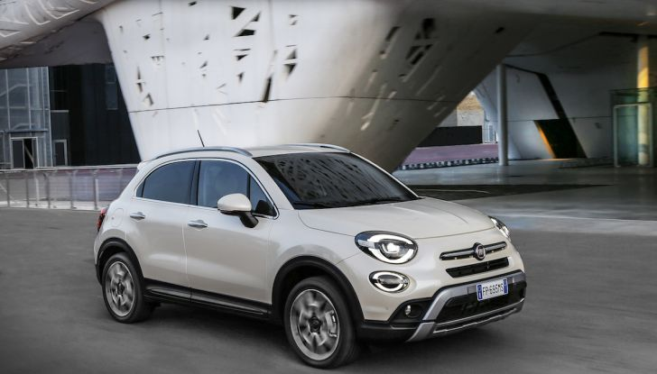 Nuova Fiat 500X 2018: nuovi motori, tecnologia e stile a 15.500€ - Foto 8 di 40