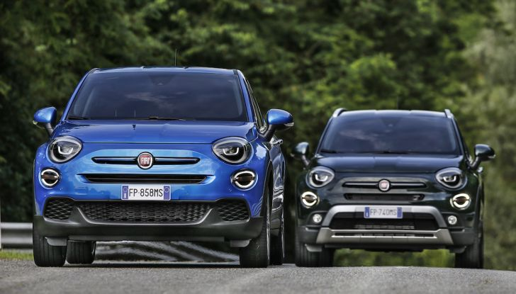 Nuova Fiat 500X 2018: nuovi motori, tecnologia e stile a 15.500€ - Foto 11 di 40