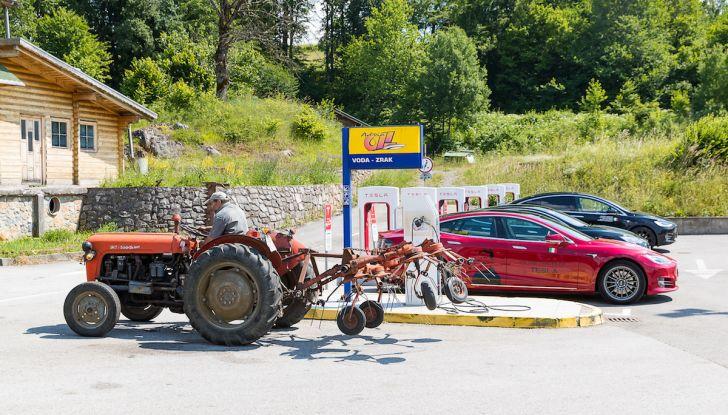 Un tributo a Nikola Tesla: viaggio con l'auto elettrica dall'Italia a Belgrado - Foto 37 di 41