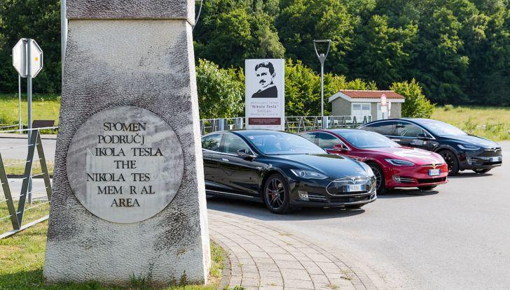 Un tributo a Nikola Tesla: viaggio con l'auto elettrica dall'Italia a Belgrado - Foto 1 di 41