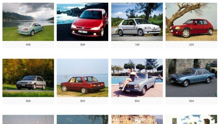 Nuovo portale WEB per i 20 anni  del Club Storico Peugeot Italia - Foto 3 di 3