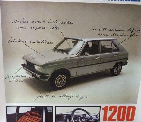 """Peugeot 104 """"Sundgau"""",  la prima serie speciale prodotta in Europa - Foto 3 di 4"""