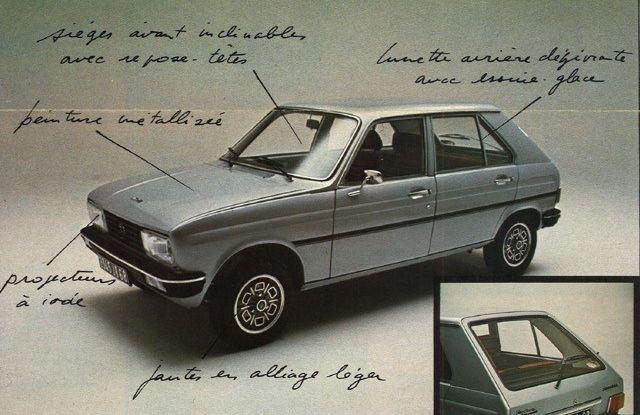 """Peugeot 104 """"Sundgau"""",  la prima serie speciale prodotta in Europa - Foto 4 di 4"""
