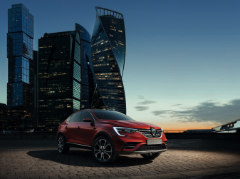 Renault Arkana 2019: il nuovo Crossover della Losanga presentato a Mosca