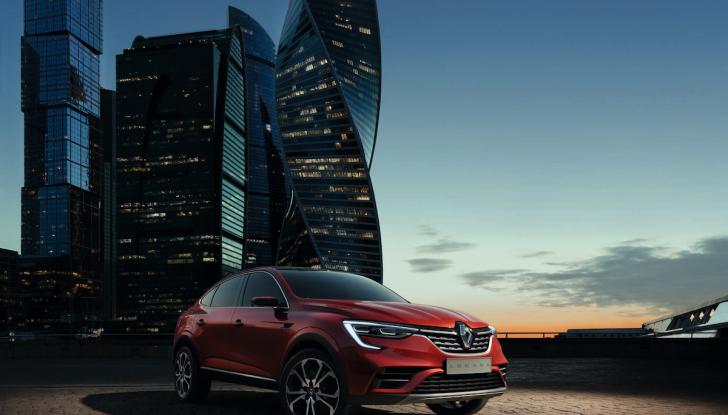 Renault Arkana 2019: il nuovo Crossover della Losanga presentato a Mosca - Foto 1 di 9
