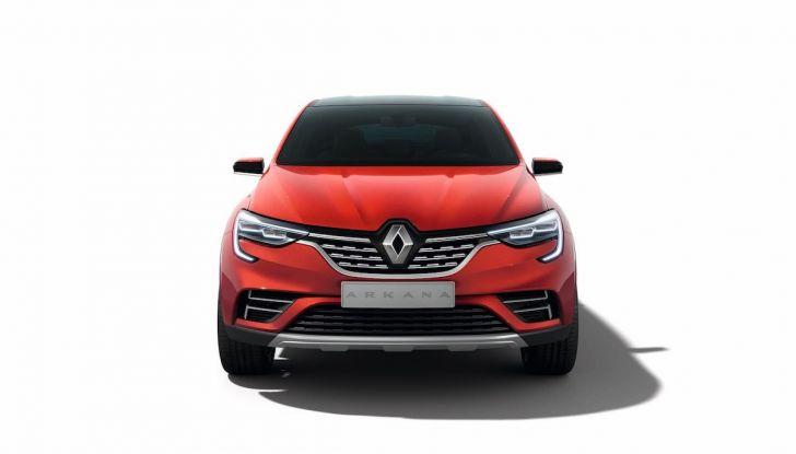Renault Arkana 2019: il nuovo Crossover della Losanga presentato a Mosca - Foto 6 di 9