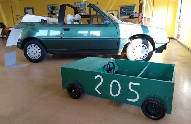 La Peugeot 205 Junior e la scatola di sapone - Foto 2 di 3