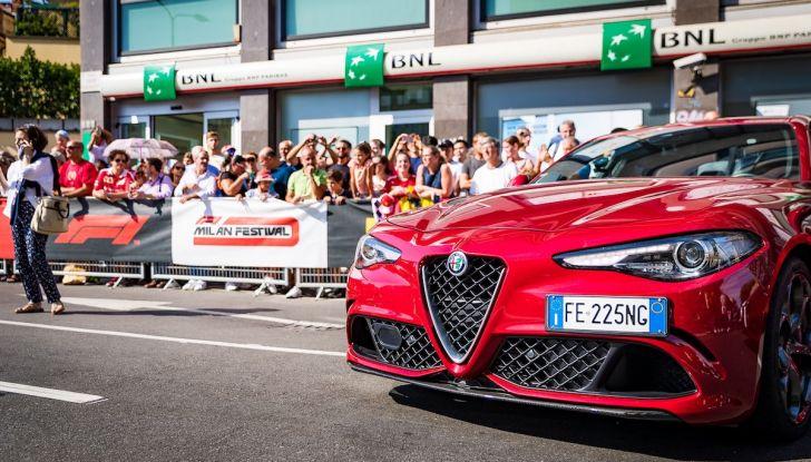 F1 Milan Festival 2018: la Formula Uno con Sauber Alfa Romeo nella capitale lombarda - Foto 13 di 33