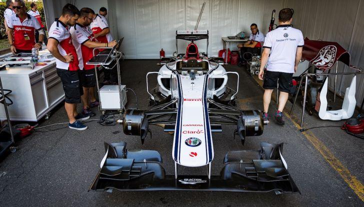 F1 Milan Festival 2018: la Formula Uno con Sauber Alfa Romeo nella capitale lombarda - Foto 2 di 33