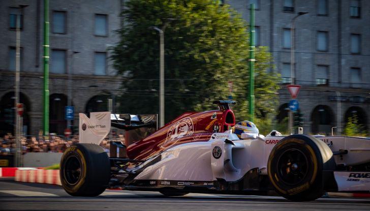 F1 Milan Festival 2018: la Formula Uno con Sauber Alfa Romeo nella capitale lombarda - Foto 1 di 33