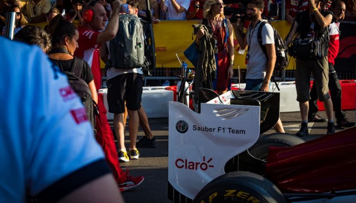 F1 Milan Festival 2018: la Formula Uno con Sauber Alfa Romeo nella capitale lombarda - Foto 28 di 33