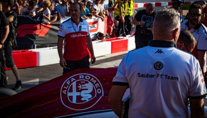 F1 Milan Festival 2018: la Formula Uno con Sauber Alfa Romeo nella capitale lombarda - Foto 29 di 33
