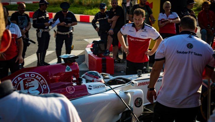 F1 Milan Festival 2018: la Formula Uno con Sauber Alfa Romeo nella capitale lombarda - Foto 30 di 33