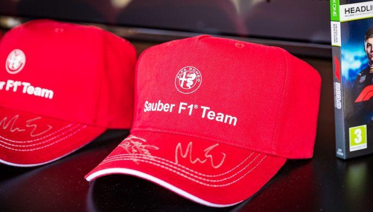 F1 Milan Festival 2018: la Formula Uno con Sauber Alfa Romeo nella capitale lombarda - Foto 9 di 33
