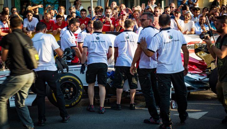 F1 Milan Festival 2018: la Formula Uno con Sauber Alfa Romeo nella capitale lombarda - Foto 32 di 33