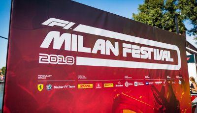 F1 Milan Festival 2018: la Formula Uno con Sauber Alfa Romeo nella capitale lombarda