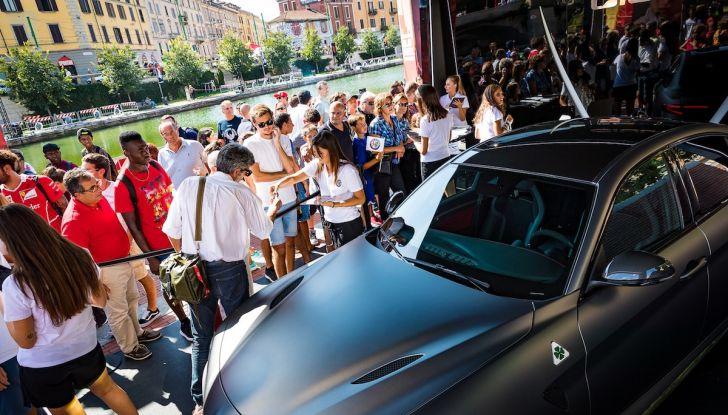 F1 Milan Festival 2018: la Formula Uno con Sauber Alfa Romeo nella capitale lombarda - Foto 11 di 33