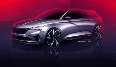 Skoda Vision RS 2018, il concept svelato al Salone di Parigi