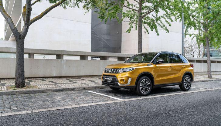Nuova Suzuki Vitara 2019: facelift tecnologico per festeggiare i 30 anni - Foto 1 di 6