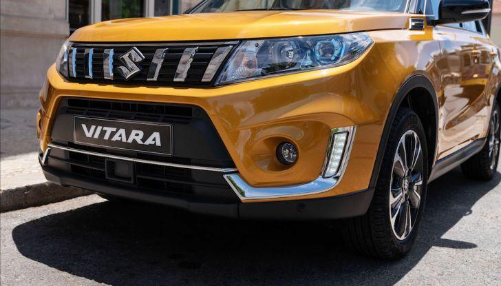 Nuova Suzuki Vitara 2019: facelift tecnologico per festeggiare i 30 anni - Foto 3 di 6