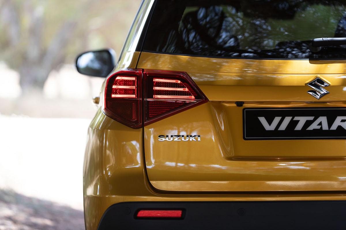 Suzuki Vitara 2019 posteriore