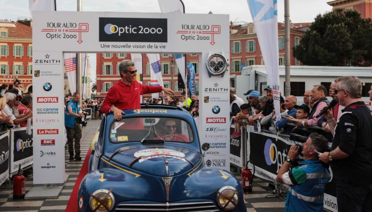 3 Peugeot al traguardo del Tour Auto 2018 a Nizza - Foto 16 di 17