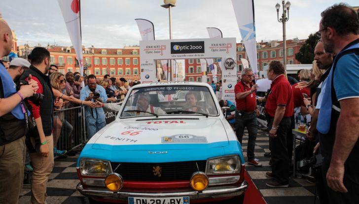 3 Peugeot al traguardo del Tour Auto 2018 a Nizza - Foto 9 di 17