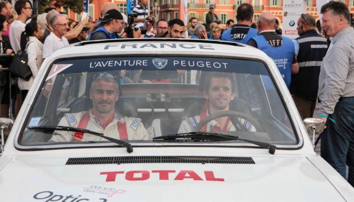 3 Peugeot al traguardo del Tour Auto 2018 a Nizza - Foto 10 di 17