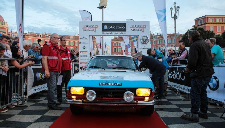 3 Peugeot al traguardo del Tour Auto 2018 a Nizza - Foto 2 di 17