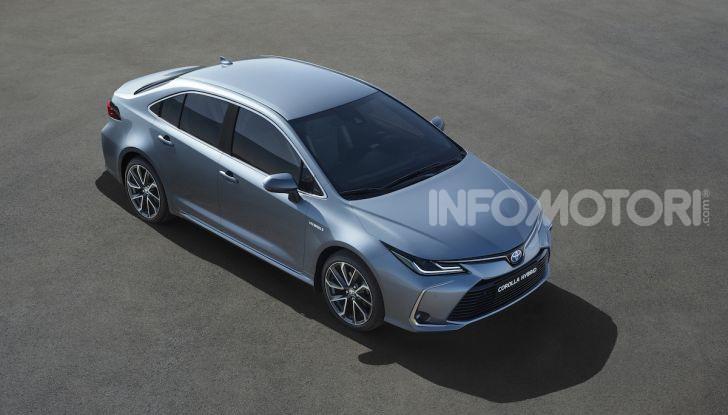 Una Toyota Corolla Full Hybrid per la Presidenza del Consiglio - Foto 5 di 27