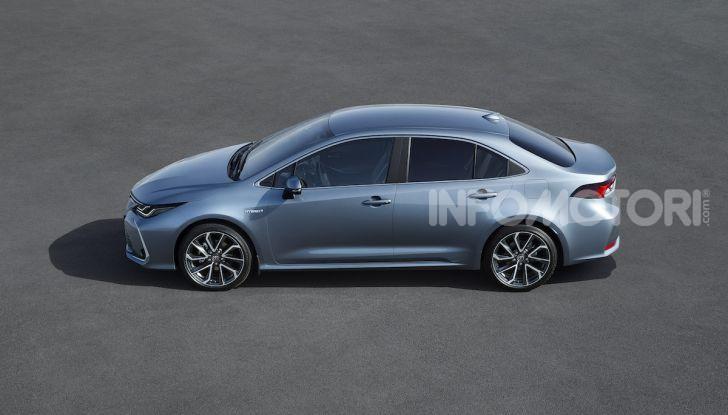 Una Toyota Corolla Full Hybrid per la Presidenza del Consiglio - Foto 6 di 27